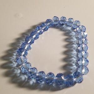 Jewelry - Blue stone bracelet